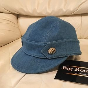 Authentic Preowned Chanel Chambray hat